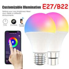 Smart WiFi Dimming Light Bulb 15W RGB+CCT Voice Control For Alexa Google Home