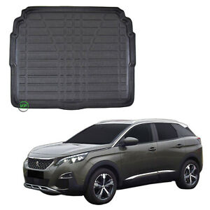 Tailored Boot tray liner car mat Heavy Duty for PEUGEOT 3008 2017-up