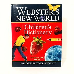 Webster's New World Children's Dictionary 2nd Edition Hard Cover