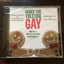 MAKE THE YULETIDE GAY soundtrack CD - Austin Wintory score, Jake Monaco songs