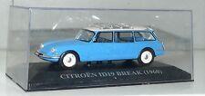 modellino CITROEN ID break  DS IXO ALTAYA  1/43 model car toys voiture coche