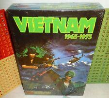 Boxed BOARD WAR GAME Victory Games VIETNAM 1965-1975 op 1984 UNP & Complete