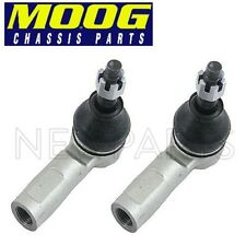 For Toyota Tacoma 2005-2015 Pair Set of 2 Front Outer Steering Tie Rod End Moog