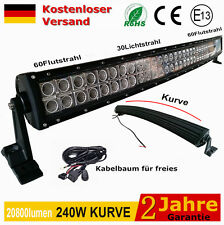 LED Arbeitsscheinwerfer 240W weiß Offroad scheinwerfer 22800LM 12v 24v For SUV