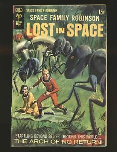 Space Family Robinson Lost In Space # 33 Fair/Good Cond.
