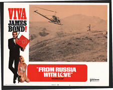 JAMES BOND FROM RUSSIA WITH LOVE 1970 VIVA BOND STYLE U.S. LOBBY CARD #6