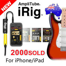 AmpliTube iRig Interface Guitar Adapter for iPad iPhone iPod Touch
