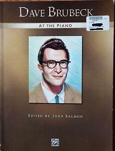 Dave Brubeck At The Piano Sheet Music Book Piano