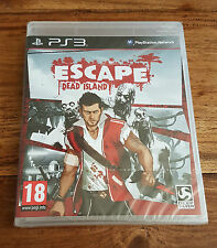 ESCAPE DEAD ISLAND Jeu Sur Sony PS3 Playstation 3 Neuf Sous Blister VF