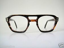Safety Hand polished Canada 50s Eye Glasses Frames Shell  Vintage Tortoise Geek