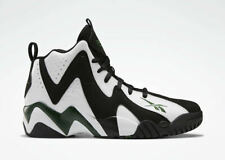 Reebok Men's Kamikaze II Mid X Shawn Kemp Basketball Sneaker FY7512 White/Green