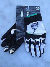 SHIFT MENS motocross RECON gloves sz 8 SMALL 15771-018-S  black/white
