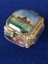 Coffret à bijoux exposition Bordeaux 1895 / Antique box Bordeaux exhibition