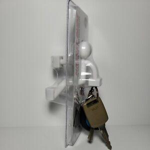 Magnet Dude Key Chain Holder Magnetic Refrigerator School Lockers Metal Doors