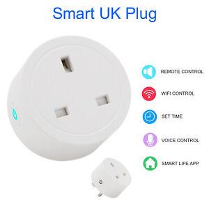 Smart Plug Outlet Switch WiFi Socket Remote/Voice Control Amazon Alexa Google UK