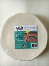 """Bosal Katahdin On-a-Roll, 2 1/2"""" x 25 yards for Jelly Roll Rugs; Cotton Blend"""