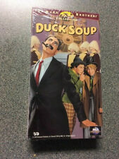 New/Sealed Vhs Movie - Duck Soup - (1933) - Marx Brothers