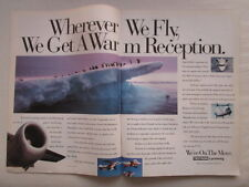 8/1991 PUB TEXTRON LYCOMING ENGINE POLE BANQUISE BOEING 360 ORIGINAL AD