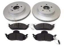 MERCEDES M-CLASS ML270 CDi W163 FRONT 2 BRAKE DISCS & PADS  (303mm CHECK SIZE)