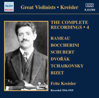 Fritz Kreisler : The Complete Recordings - Volume 4 CD (2012) ***NEW***