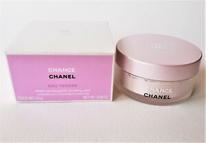CHANEL CHANCE Eau Tendre Shimmering Powdered Perfume (25 g/0.88 oz) New with Box