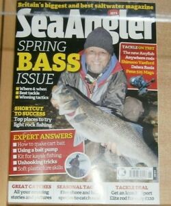 Sea Angler Magazine #595 2021 Spring Bass issue, Where, when, tackle, tactics
