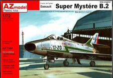 AZ Models 1/72 DASSAULT SUPER MYSTERE B-2 w/ATAR Engine French Jet Fighter