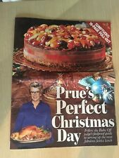 New Daily Mail 16 Page Pullout Prue's Perfect Christmas Day - Prue Leith Recipes
