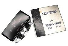 Mamiya Hood for Sekor Twin Lens 65mm f3.5.  ........... MINT w/Box