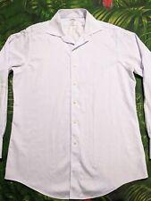 BROOKS BROTHERS Long Sleeve NON-IRON Dress Shirt White 15.5 34/35 Slim Fit