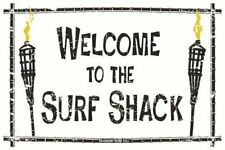 Welcome To The Surf Shack 18 x 12 in Aluminum Sign