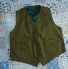 Woolen Long Big & Tall Waistcoats for Men