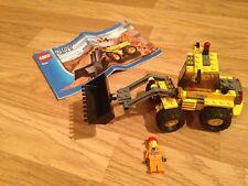 Lego 7630 Front End Loader  complete Inc instruction