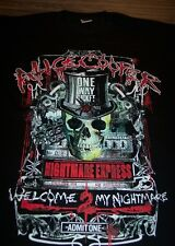 ALICE COOPER Welcome To My Nightmare TOUR SKULL T-Shirt XL NEW