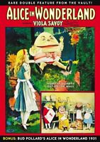 Alice in Wonderland Double Feature (1915/Silent and 1931 Versions) NEW DVD