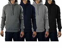Pro 5 Men Pull Over Hoodies Sweaters Heavy Weight Hooded Sweatshirt Black Blue
