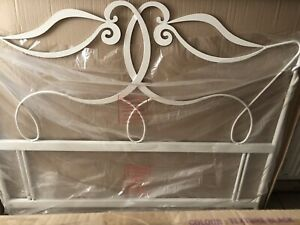 Hyder Montpelier Queen Headboard Texture White New (165cm)