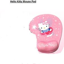 1PC Hello Kitty Mouse Pad Silicon Wrist Rest Keyboard Mouse Computer For Women