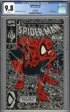 Spider-Man #1 CGC 9.8 NM/MT Silver Variant WHITE PAGES