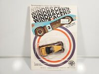 Zee Toys Windracers Ford Roadster Brown/Tan 1:64 Diecast NOC 1981