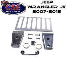 Stainless Steel Hood Set  Jeep Wrangler JK 2007-2012 11101.04 Rugged Ridge