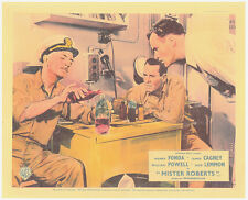 MISTER ROBERTS ORIGINAL LOBBY CARD WILLIAM POWELL JACK LEMMON HENRY FONDA