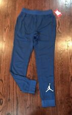 NWT$40 Nike JORDAN  Youth boy's MESH JOGGER PANTS FRENCH BLUE (953245) Sz S M L