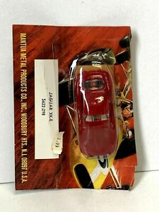TYCO S622 '63 Jaguar XKE Sports Coupe HO Slot Car SEALED on Partial CARD