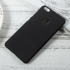Huawei P10 Lite Hard Case Rubberized Gummiert Matt Hülle Schale Cover Schwarz