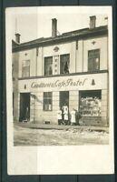 Ansichtskarte AK - Halberstadt -Ansicht Conditorei und Cafe Pestel - gelaufen