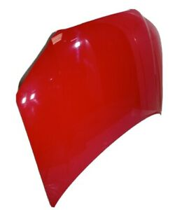 2004-2008 AUDI A3 8P SPORTBACK FRONT BONNET HOOD - BRILLIANT RED LY3J GENUINE