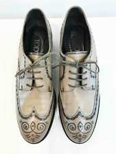 Designer TODS Size 38.5 EU Brogue Style Worn Once With Box Women's Shoes