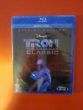 Tron, The Original Classic, Blu-Ray +Dvd, No Digital, Lot D4,