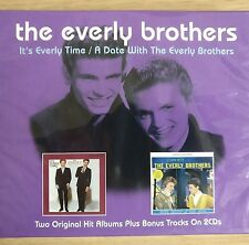 2CD NEW - THE EVERLY BROTHERS - Country Rock & Roll Pop Music 2x CD Album